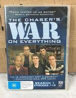 The Chaser's War on Everything Season 1 Vol 1 DVD, 2006, 2-Disc Set Region 4
