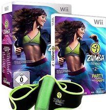 Nintendo Wii +Wii U ZUMBA FITNESS 2 + EXKLUSIVER GÜRTEL OVP Neuwertig