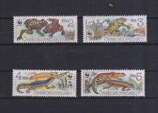 Tschechoslowakei 1989 postfrisch MiNr. 3007-3010  WWF  Amphibien