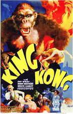 King Kong Movie Mini Promo Poster Fay Wray Bruce Cabot Robert Armstrong