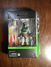 IN HAND Star Wars The Black Series Boba Fett Deluxe Action Figure