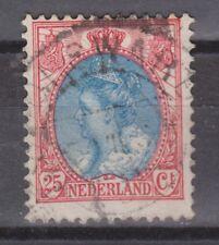 NVPH Netherlands Nederland 71 TOP CANCEL BOLSWARD Wilhelmina 1899