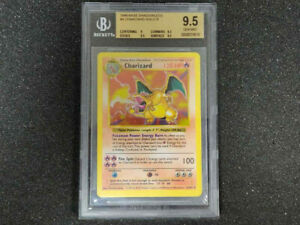 1999 Pokemon | Charizard | Base Set | Holo Shadowless | BGS 9.5