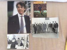 CALCIO INTER F.C. INTERNAZIONALE FOTO MORATTI MAZZOLA JAIR FRAIZZOLI MEAZZA