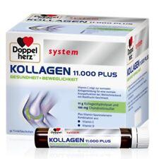 DOPPELHERZ Kollagen 11000 plus system Ampullen 30x25ml PZN 07625039 plus Proben