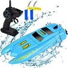 RC Boat Remote Control Boats for Pools & Lakes - H126 Mini Racing 2.4GHz 10km/h