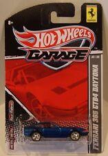 Hot Wheels 2011 Garage Ferrari 365 GTB4 Daytona Real Riders/Metal  #3/6 Blue