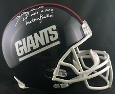 Lawrence Taylor autographed signed inscribed Helmet Full Size NY Giants PSA