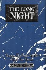 The long night-VAMPIRI: the Dark Ages for Mind 's Eye Theatre-NEW-VERY RARE