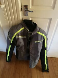 Bering Greenwich Motorcycle Motorbike Jacket Armour and Liner Excellent Mens SM