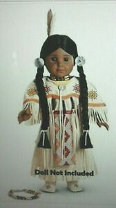 American Girl Doll Kaya's Pow-Wow Dance Dress of Today White Outfit NEW!! RARE