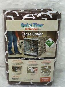 QUIET TIME Crate Cover Brown (MEDIUM) (NEW)