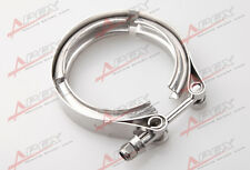 """2.5"""" STAINLESS TURBO V-BAND EXHAUST DOWNPIPE CLAMP CUSTOMIZABLE FITMENT"""
