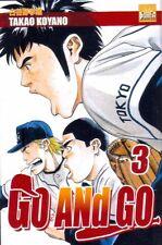 GO AND GO tome 3 Koyano manga shonen