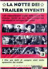 LA NOTTE DEI TRAILER VIVENTI Volume 3 DVD FILM SEALED