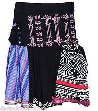 DESIGUAL jupe FAL PICOS  noire fantaisie femme