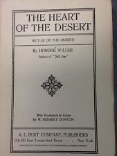 The Heart of the Desert By Honore Willsie 1913
