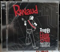 DOUBLE CD RENAUD TOURNÉE ROUGE SANG PARIS BERCY + HEXAGONE 2007 NEUF SCELLE
