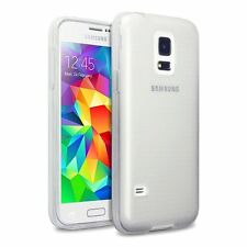 Transparent Ultra Slim Clear Silicone Gel Case Cover for Samsung Galaxy S5 mini