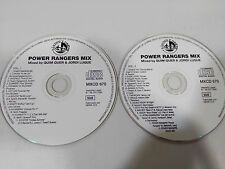 POWER RANGERS MIX MIXED BY QUIM QUER JORDI LUQUE BLANCO Y NEGRO 2 X CD SIN CAJA