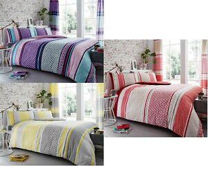 Luxury Charter Stripe Duvet Cover Set Striped Duvet/Quilt Set Bedding Bed Set