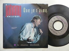 JOHNNY HALLYDAY Que je t aime Bercy 870386 7