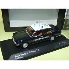ALFA ROMEO ALFETTA 1.8 1972 CARABINERI Police Italienne MINICHAMPS 1:43