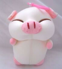 Snow Foam Micro Beads Fat Pig Cushion/Pillow Backpack/Purse Clip-Brand New!