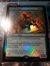 1 x FOIL Nessian Boar  -Theros Beyond Death-MTG-Magic the Gathering