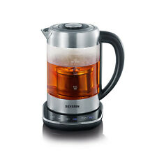 Severin Glass Tea and Water Kettle 3471