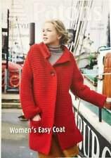 Patons 4054 Tejer patrón para Mujer Damas Chaqueta de mangas de punto de 4 capas