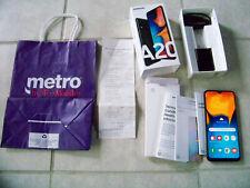 Samsung Galaxy A20 SM-A205U - 32GB - Black (Metro) (Single SIM) ***Open Box***
