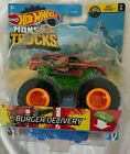 Hot Wheels Monster truck Burger Delivery 1/6