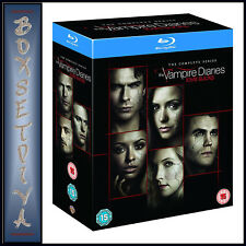 The Vampire Diaries Seasons 1 to 8 Blu-ray UK BLURAY