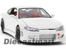 WELLY 1:24 NISSAN 200SX SILVIA S15 RHD DIECAST MODEL CAR JDM 22485 WHITE NEW