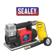 SEALEY MAC04 12V HEAVY DUTY CAR BIKE DIGITAL TYRE INFLATOR AIR COMPRESSOR PUMP