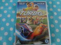 Turbo DVD (2014) David Soren cert U new/sealed,free postage uk
