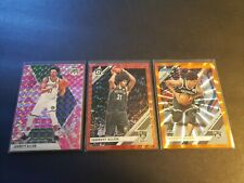 2019-20 JARRETT ALLEN Mosaic PINK CAMO, OPTIC Red and Donruss Orange Lazer LOT.