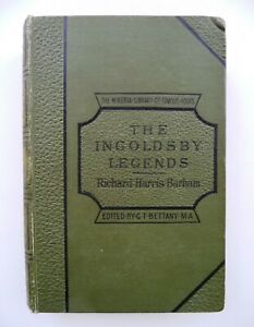 """""""THE INGOLDSBY LEGENDS"""" by Richard H. Barham. 4th. edition 1890. illustrated."""