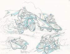 Jose Luis Garcia Lopez Original Art Cover Sketch Superman Batman Dawn of Justice
