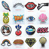 Cartoon Pattern Embroidery Iron on Patches for Clothing DIY Stickers Appliques