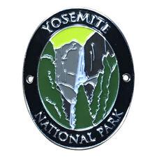 Yosemite National Park Walking Hiking Stick Medallion - Waterfall, California