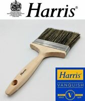 "Harris Large Paste Brush Wide Block Flat Paint Brush 5"" Wallpaper Decorating"