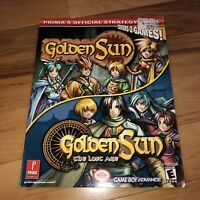 Golden Sun And Golden Sun The Lost Ages Official Strategy Guide Prima 1&2 RPGs