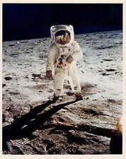 Neil Armstrong, Buzz Aldrin at Lunar Module Apollo 11 Vintage NASA 8x10 photo