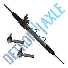 Complete Power Steering Rack and Pinion + (2) Outer Tie Rods w/Pressure Switch