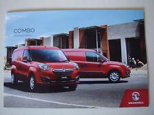 Vauxhall . Combo . Vauxhall Combo . 2018 Models Edition 1 Sales Brochure