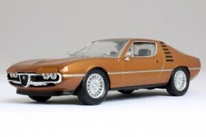 Alfa Romeo Montreal Coupe Sports Car Brown Italy Diecast Model 1:43 Scale (1970)