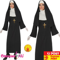Ladies Womens Nun Costume Mother Superior Erotic Sister Religious Fancy Dress