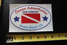New listing Ocean Adventures Venice Scuba Snorkel Dive Diver Vintage Surfing/Diving Sticker